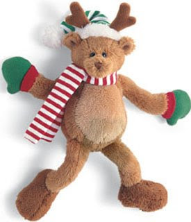 Gund reindeer plush animal magnet