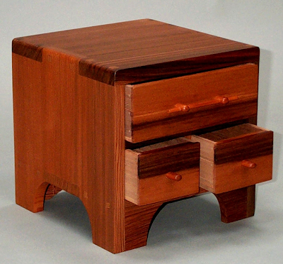 tansu jewelry box