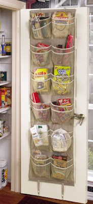 over-door pantry organizer