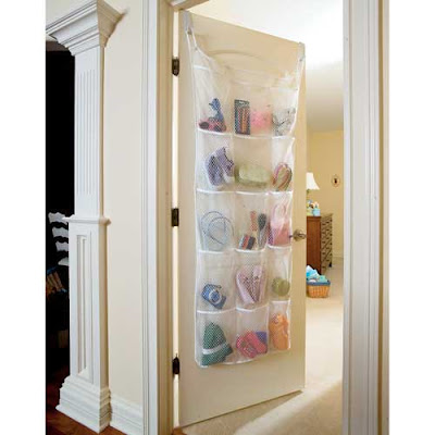 over door organizer with 15 large pockets