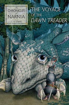 The Voyage of the Dawn Treader - book cover