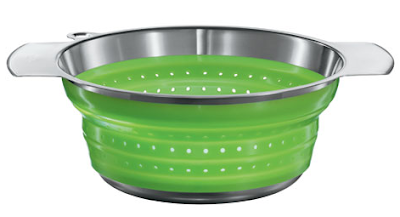 colapsible colander