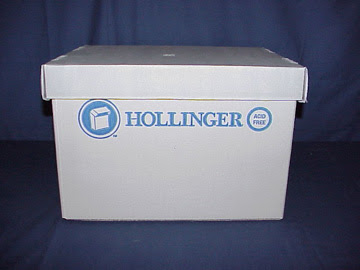 Hollinger archival document box