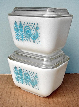 food storage containers, glass