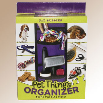 Pet Buddies hanging organizer