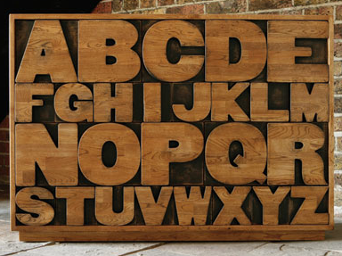 alphabet chest of drawers