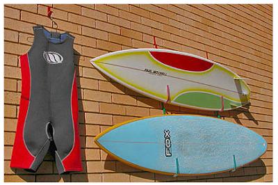 Surf Board Wall