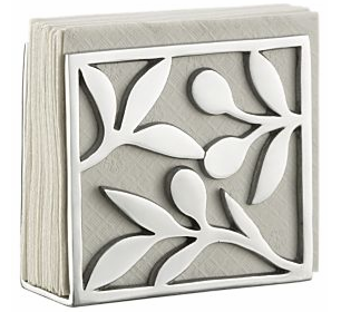 aluminum napkin holder