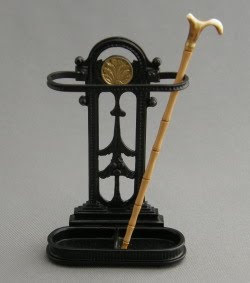 dollhouse miniature umbrella stand