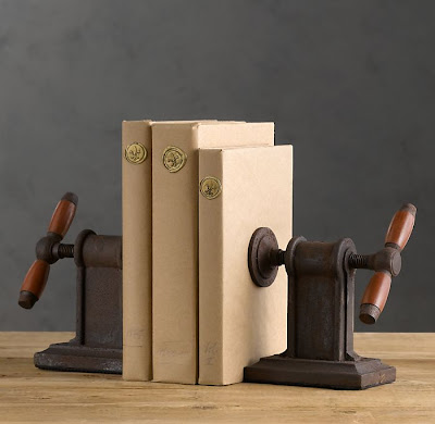 vise bookends