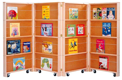 bookcase room divider for children