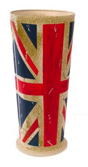 Union Jack umbrella stand