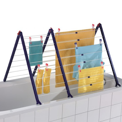 drying rack for bathtub