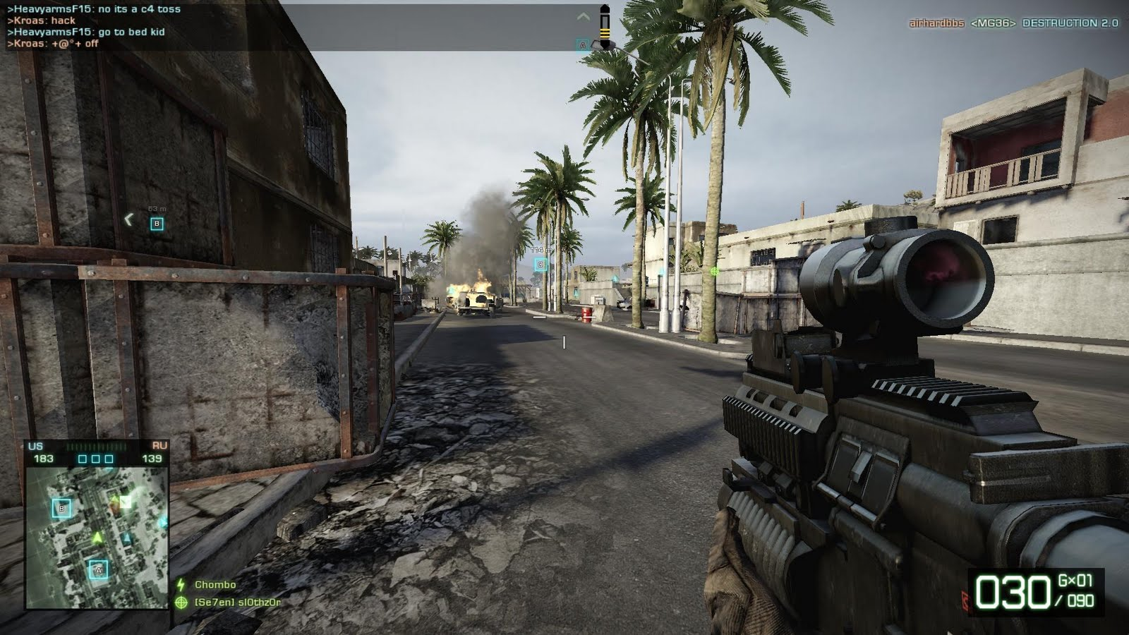 joystick envy new bad company 2 maps