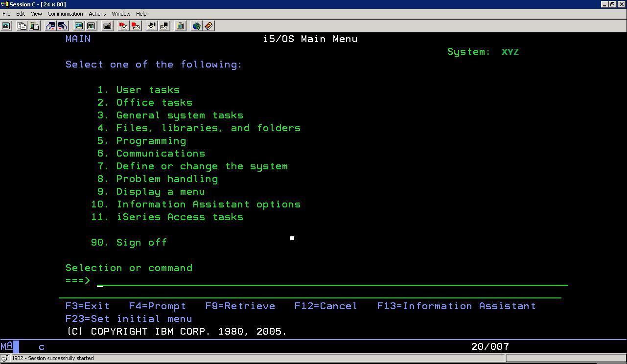 IBM i (AS400) Admin Training Blog: September 2010