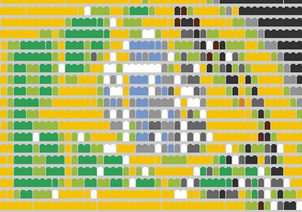 Brickify Transformer Les Pixels Dune Photo En Brique De Légo