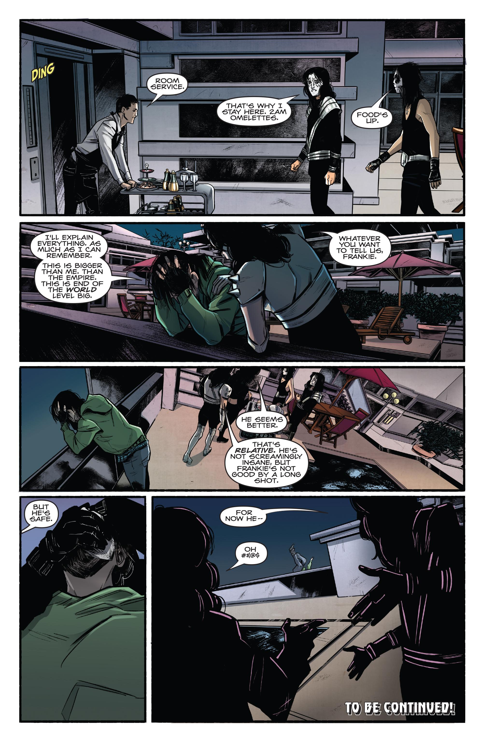 Read online Kiss/Vampirella comic -  Issue #1 - 28
