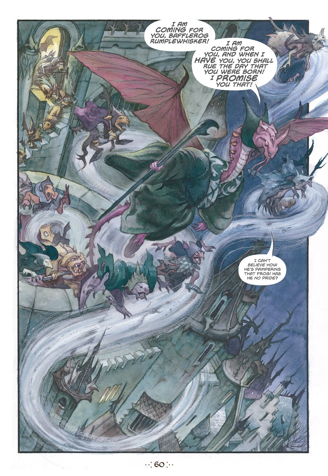 Read online The Wizard's Tale comic -  Issue # TPB - 57