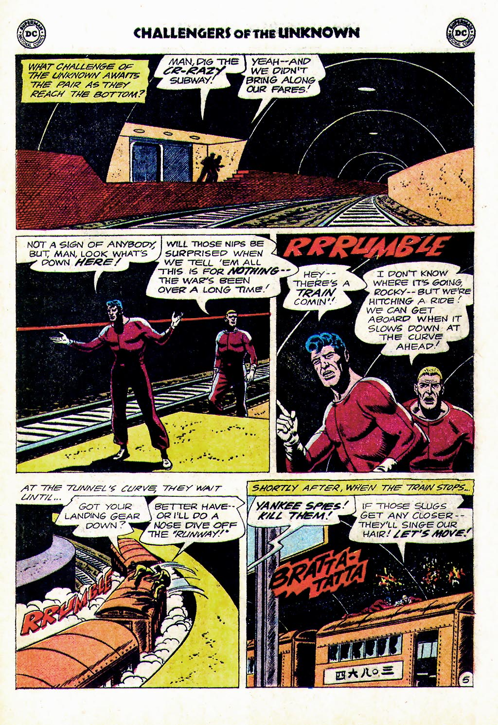 Challengers of the Unknown (1958) issue 38 - Page 25