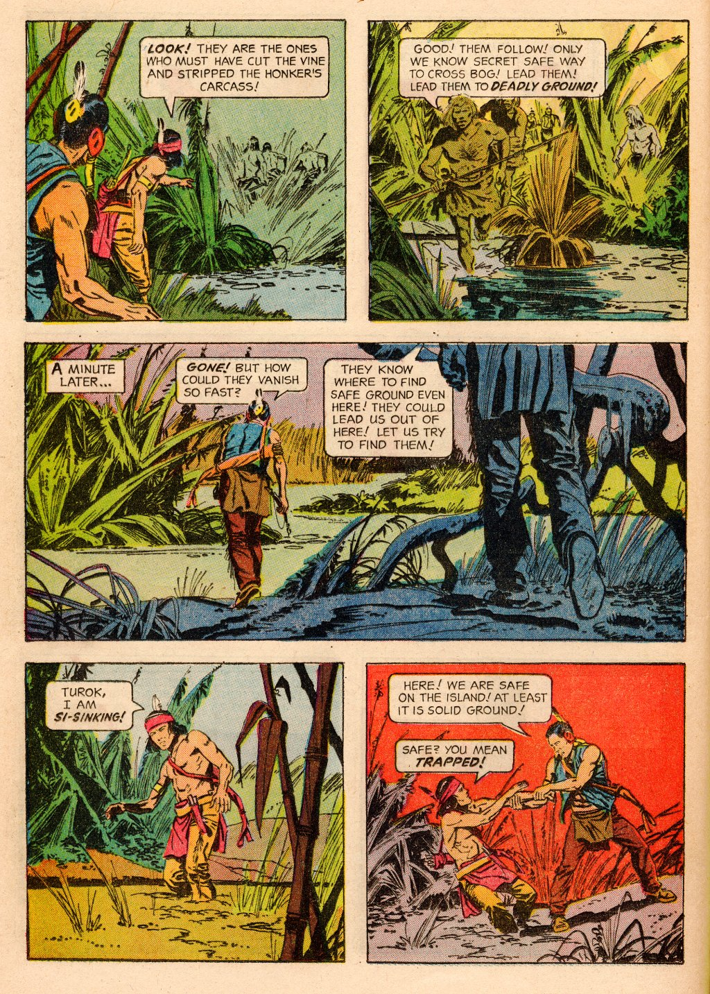 Read online Turok, Son of Stone comic -  Issue #33 - 12