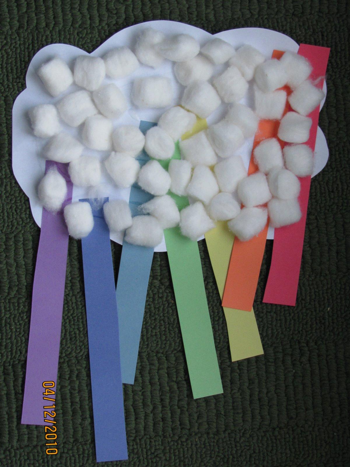 Live, Learn, Love: Preschool Rainbow Craft