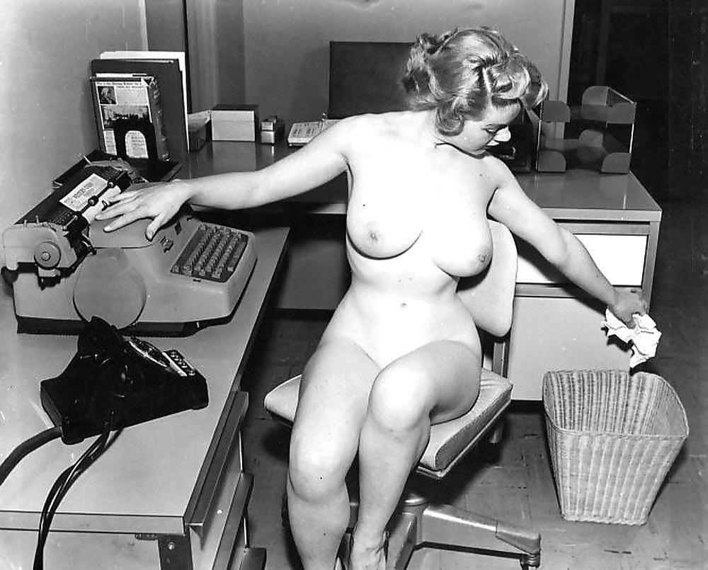 Vintage secretary porn