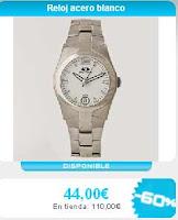 relojes pulsera acero hombre