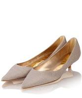 zapatos mujeres color plata plateados