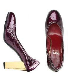 zapatos granates burdeos