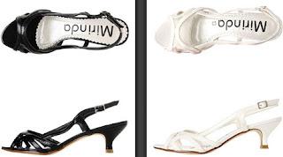 sandalias fiesta negras o blancas