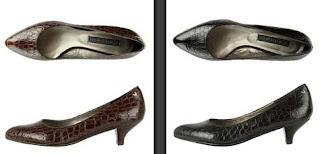 zapatos piel cocodrilo