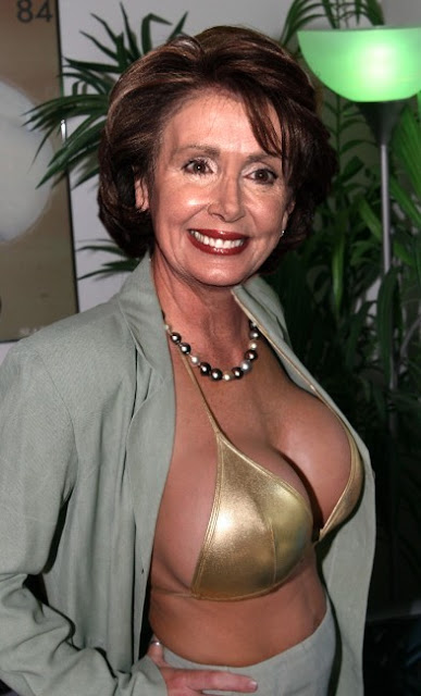 Pelosi and her big tits remarkable, very