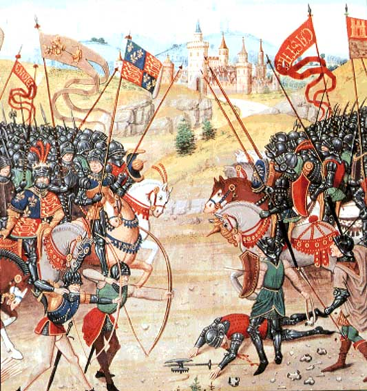 The French Battle of Agincourt