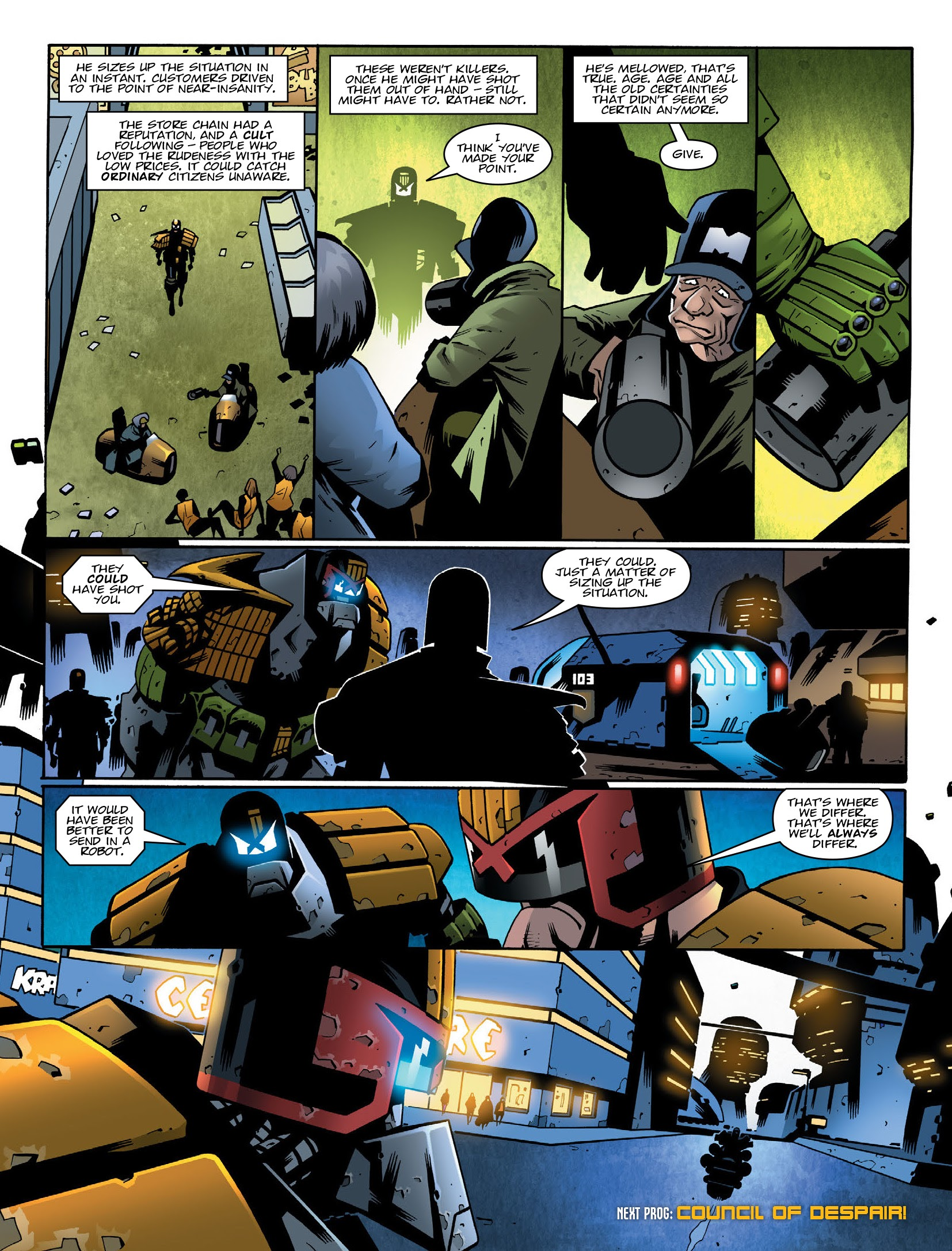 Read online 2000 AD comic Issue #2117