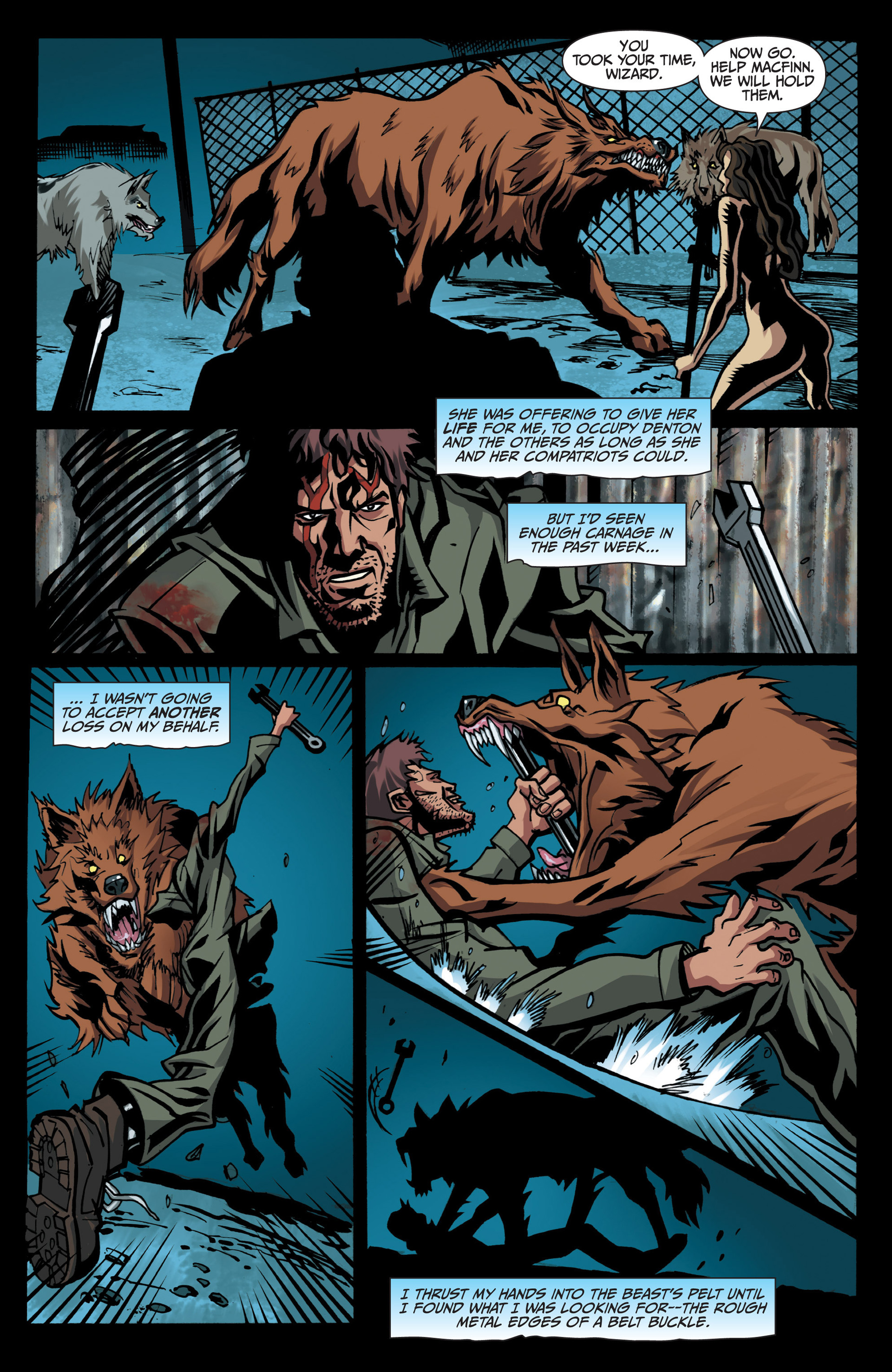 Read online Jim Butcher's The Dresden Files: Fool Moon comic -  Issue #7 - 10