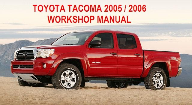 manuales de mecanica automotriz by autorepair soft manual de taller de toyota tacoma 2005 2006. Black Bedroom Furniture Sets. Home Design Ideas