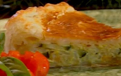 Ricetta Torta Salata Zucchine Riso Ricette Più