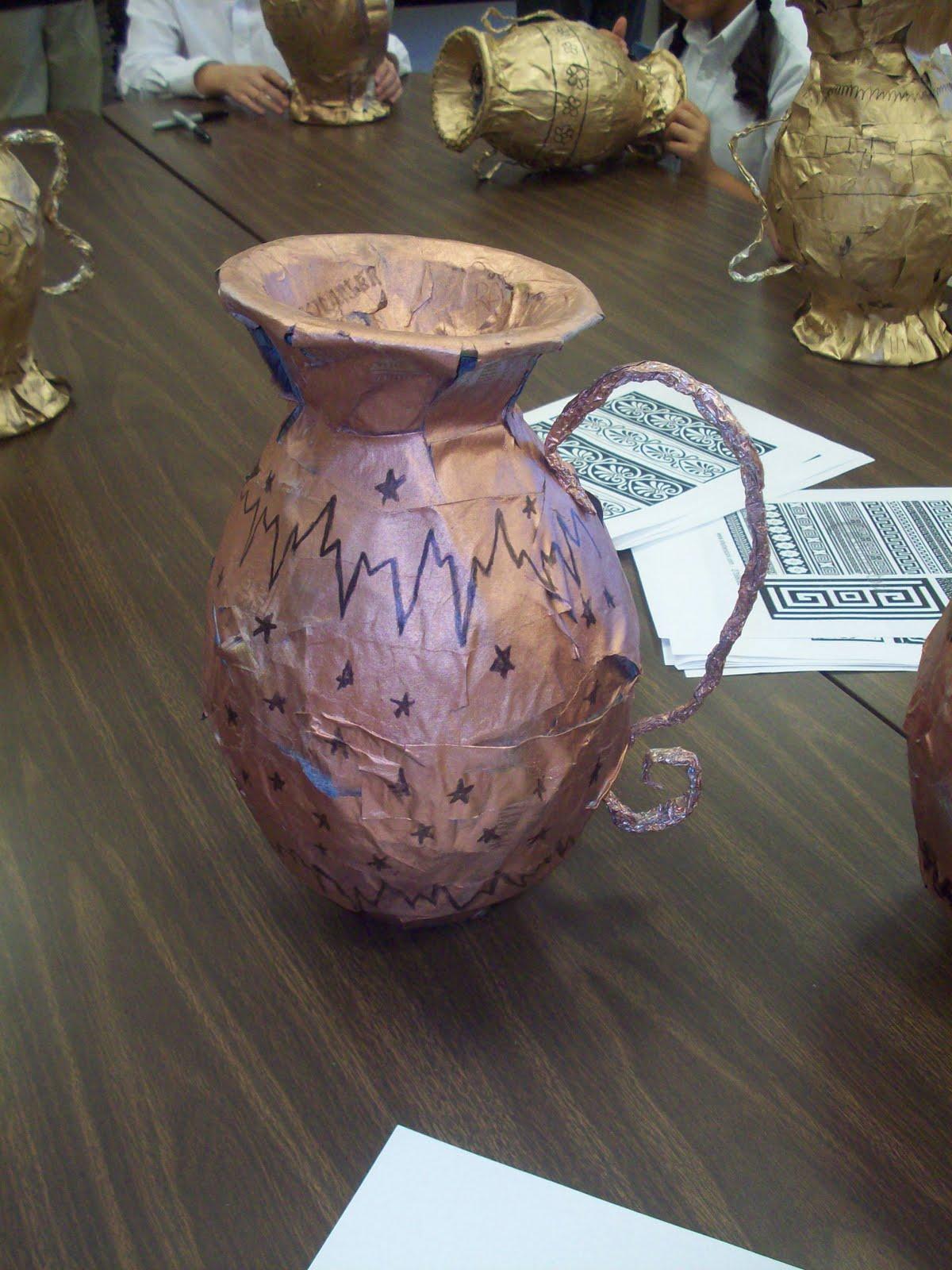 Mrs Porter S Palette Ancient Greek Vases