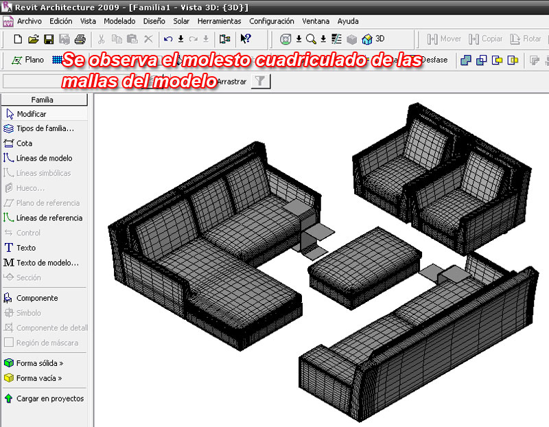 tutorial muebles archmodels en revit