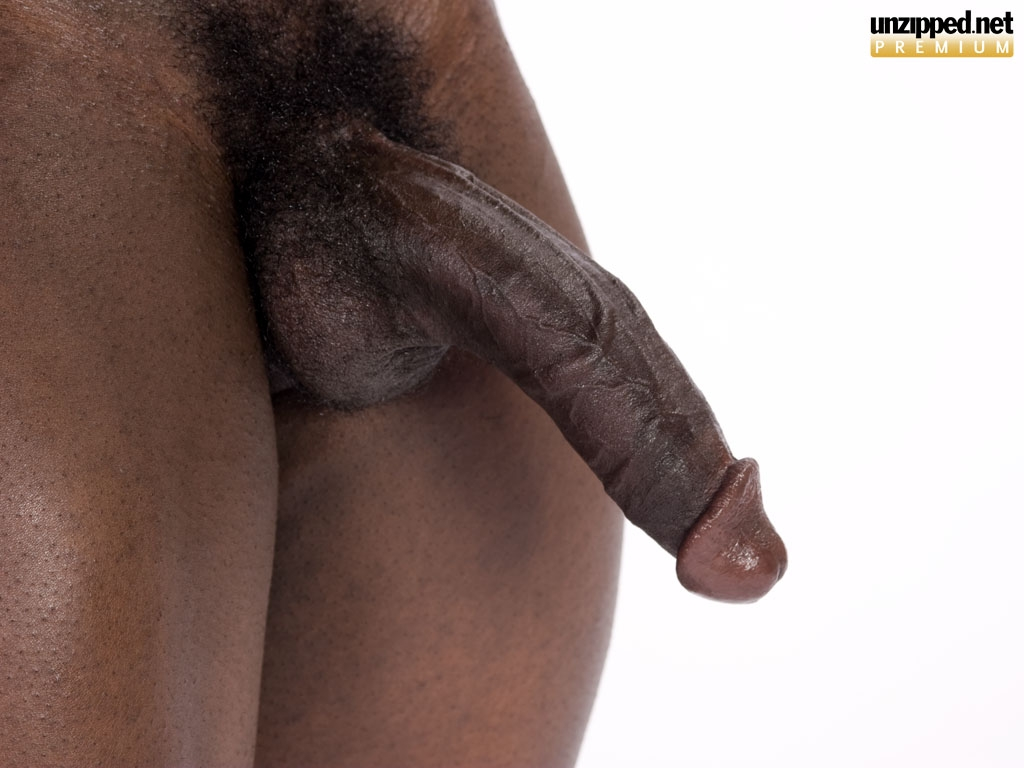 Black dick gay hung man