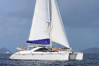 Charter catamaran AMARYLLIS with Paradise Connections Yacht Charters