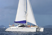 Charter yacht catamaran AMARYLLIS - Contact Paradise Connections Yacht Charters
