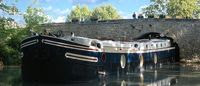 French Hotel Barge ALEGRIA on canal du midi South of France. Book with ParadiseConnections.com