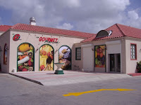 Gourmet Marche in St Maarten. We'll never shop there again