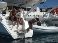 Charter Catamaran Entrepreneurship with Paradise Connections Yacht Charters