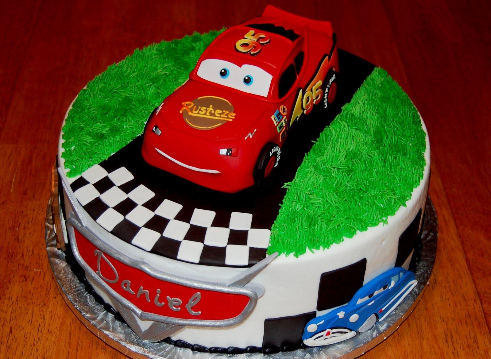 Shaped Cars Cake