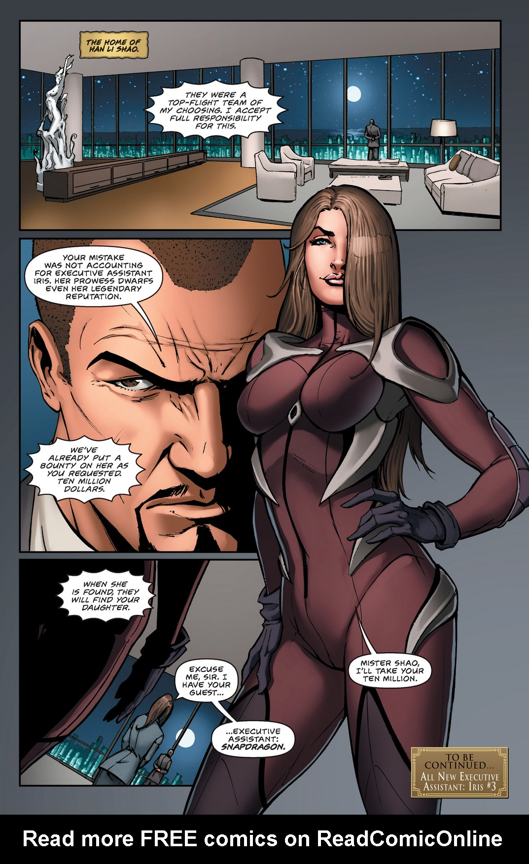 Read online All New Executive Assistant: Iris comic -  Issue #2 - 22