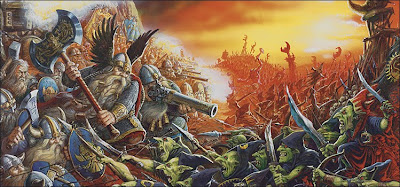 Image result for dwarf battle goblins