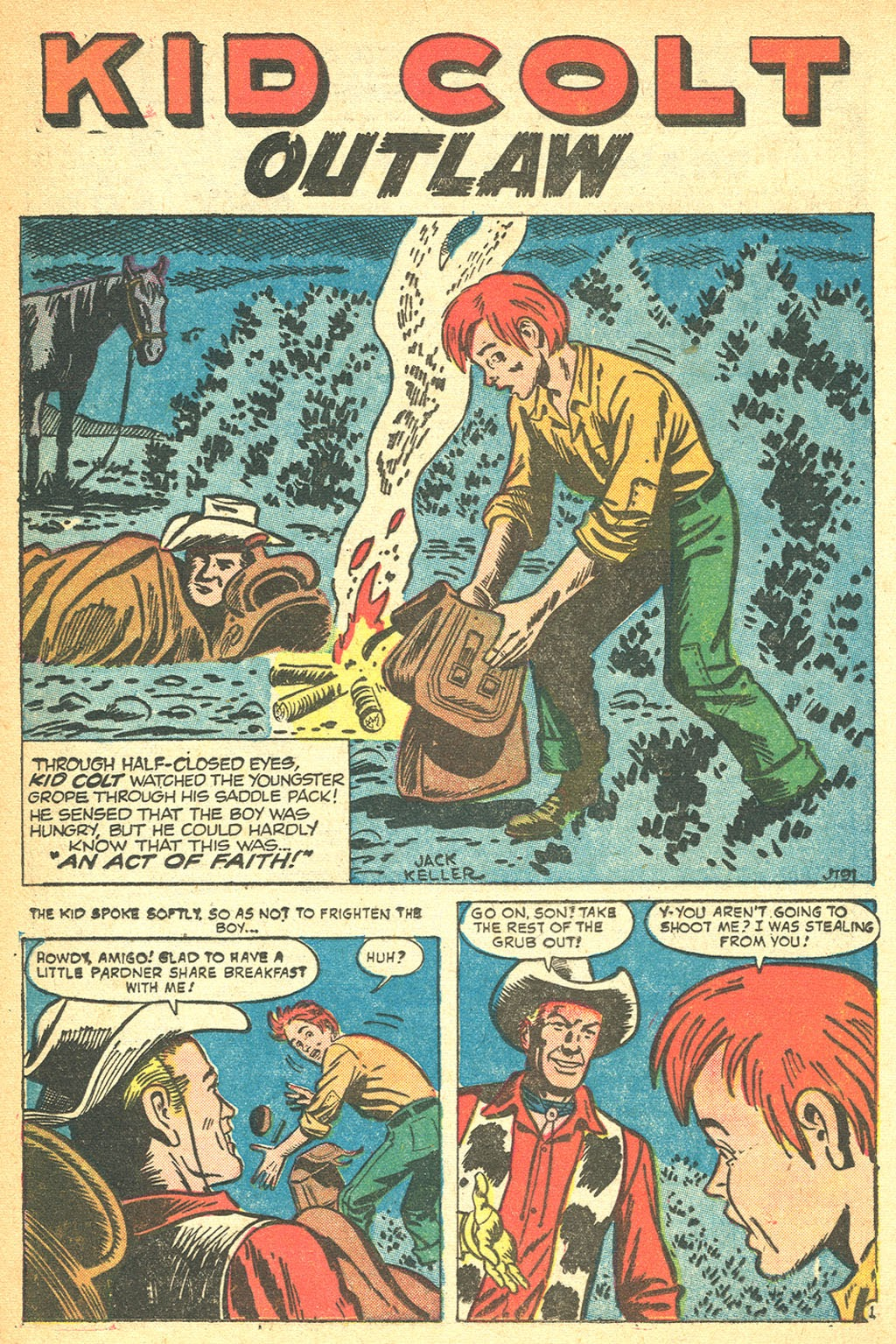Kid Colt Outlaw issue 60 - Page 16