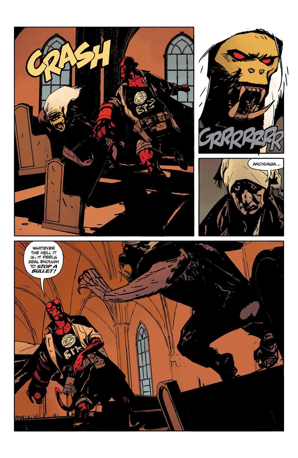 Read online Hellboy and the B.P.R.D. comic -  Issue # _TPB - 46
